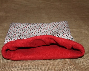 MEDIUM LARGE Flower Pouch for small pocket pets.