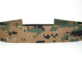Woodland MARPAT USMC Adult Headband Military Camo