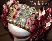 Tribal Fusion ATS Belly Dance Headpiece, Dulcina