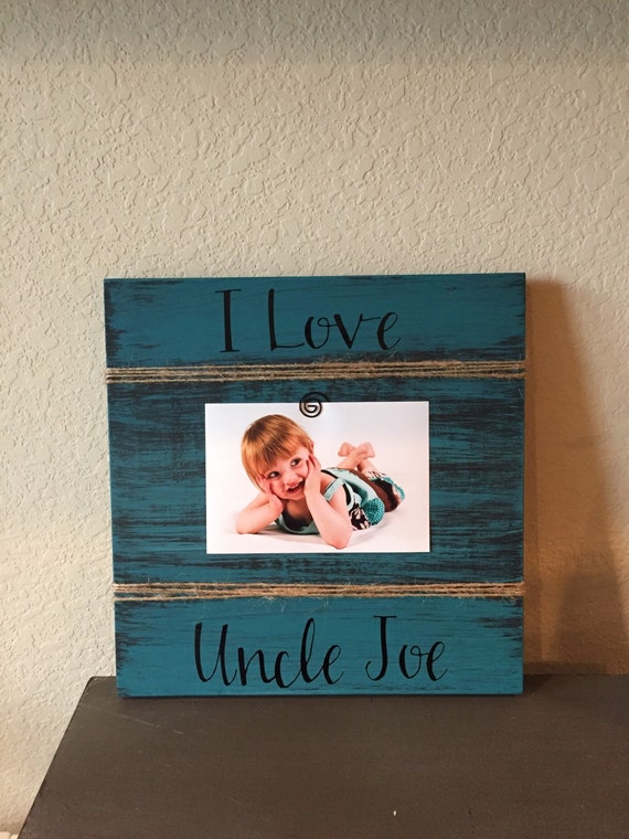 Uncle Gift Frame Gift For Brother I Love My Uncle Brother
