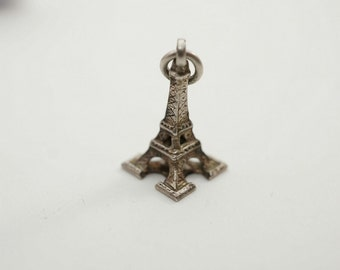Vintage Sterling Eiffel Tower Charm