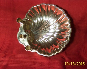 Silverplated shell Bowl