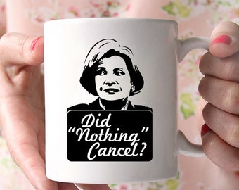 """Did """"Nothing"""" Cancel? Lucille Bluth Arrested Development coffee cup"""