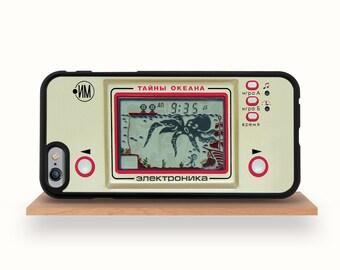 iPhone 7/7 Plus Case, iPhone 6/6S Case, iPhone 5/5S Case, iPhone 6/6S Plus Case, iPhone 5C Case - Retro Soviet Game Elektronika iPhone Case