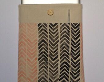 Hepphabit 15 inch block printed laptop case