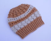Knit Girl Lace Hat.