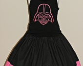 Pink Darth Vader Skirt and Top size 7/8 Ready to Ship