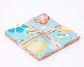 "Ardently Austen 5"" Squares Charm Pack by Amanda Herring for Riley Blake, 21 pieces"