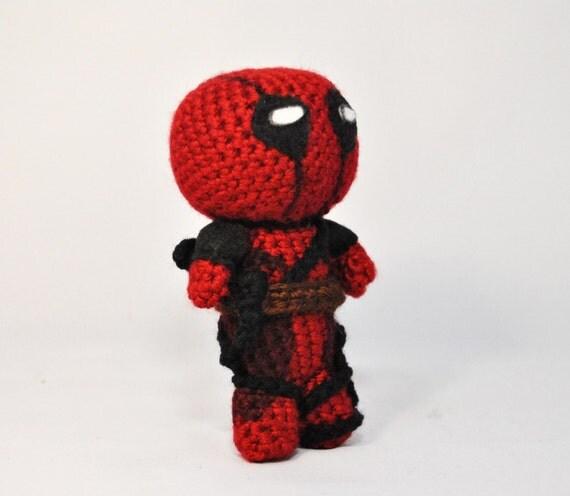 Crochet Wedding Dress Pattern Doll : Crochet Pattern: Deadpool hero - Amigurumi from ...
