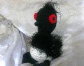 Crochet Becky loon bird finding dory