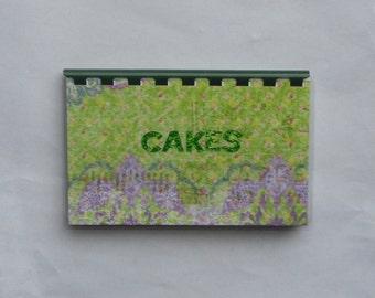 Handmade Cakes Blank Recipe book
