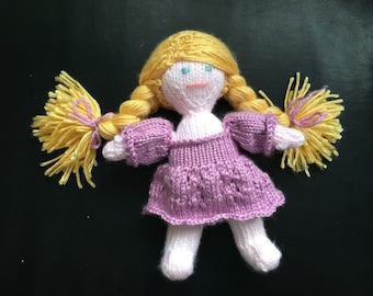Knit Doll Pattern Waldorf