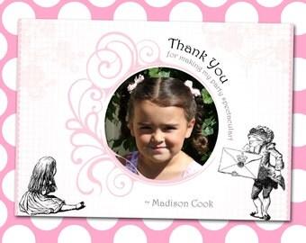 Alice in Wonderland Thank You Cards *Digital Download*