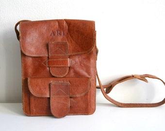 SALE Tooled Travel Bag