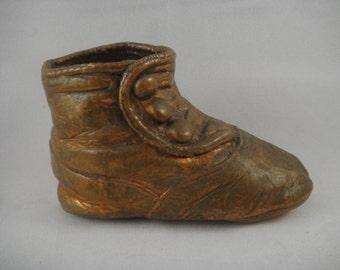 Baby Shoe Copperized