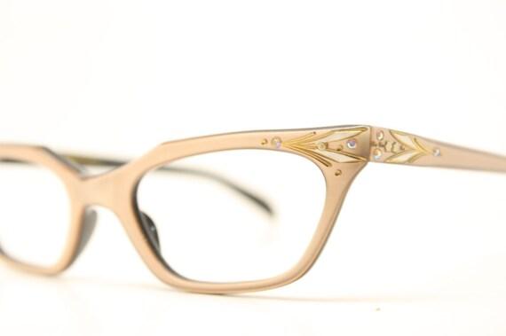 Unique Cat Eye Glasses Frame Vintage : Unique rhinestone cat eye glasses vintage by ...
