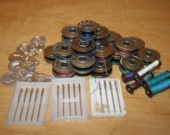 Sewing Items - Bobbins - Needles - Needle Threaders - item #1787