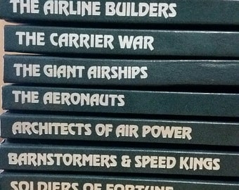 Time Life Epic of Flight series 1980, 1981, 1982, selling as individual volumes