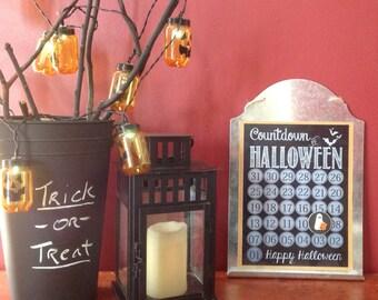 Halloween Countdown Calendar (Magnetic)