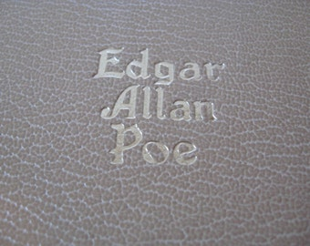 The Works of Edgar Allan Poe in One Volume Complete Tales & Poems Black's Readers Service original copyright 1927 renewed 1943