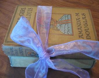 A Little Girl in Old St Louis by Amanda M Douglas and Robinetta by Kate Douglas Wiggin 2 Vintage Novels