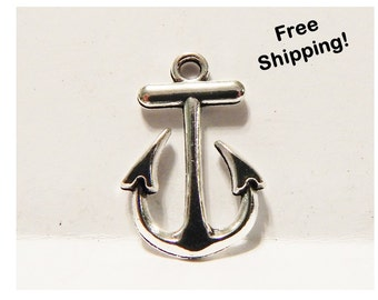 Set of 4 - Anchor Charm