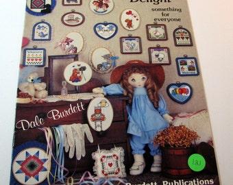 Cross Stitcher's Delight Pattern booklet by Dale Burdett - 1987