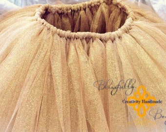 NEW Product LIMITED glitter gold infant tutu