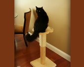 28 Inch Scratch & Perch Cat Tree - Ships Free!