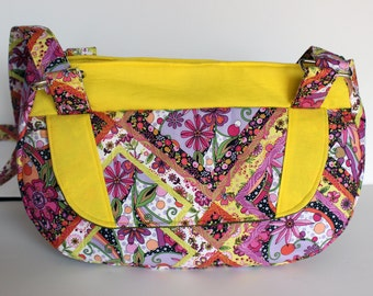 Delilah Bag - Yellow and Pink