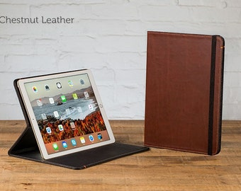 The Oxford Leather iPad Pro 12.9 Case - Chestnut | Leather iPad Pro Case, Leather iPad Case, Leather iPad Cover