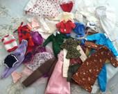 Vintage Barbie doll clothes 36 pieces