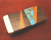 Brother Gift Unique Abstract Money Clip for Men Gift Handmade Brother Gift MC172