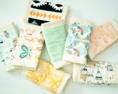 Burp Cloth Set // Design Your Own // Pick 2