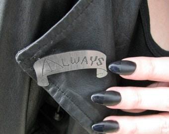 Harry Potter inspired Snape Always brooch