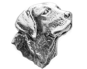 Labrador Retriever Pewter Cufflinks