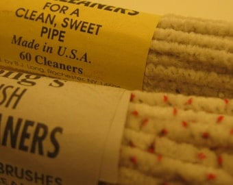 Vintage Chenille and Bristle Pipe Cleaners Craft Supplies