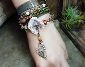 Very Frustrating Bracelet - Mixed Media Jewelry