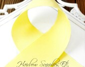 Lemon Yellow 1-1/2 inch - Choose from 1-50 yd - Bright Yellow Grosgrain Ribbon - Hairbow Supplies, Etc.