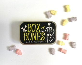 Halloween Treat, Halloween Party Favor, Halloween School Favor, Halloween for Kids, Kids Halloween Favor, Kids Halloween Gift, Bag of Bones