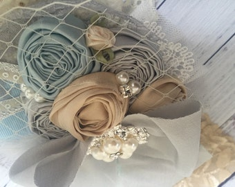 Dainty dreams by cozette couture silk rosette baby flower headband