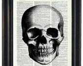 BOGO SALE Anatomy Wall Art Prints Dictionary Art Prints Body Wall Art Prints Skull Art Prints