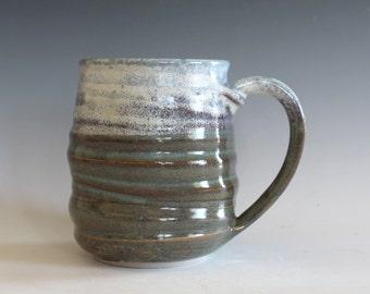 Ceramic Coffee Mug, 20 oz, handmade ceramic cup, ceramic stoneware mug, coffee cup