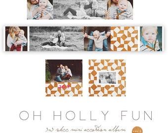Oh Holly Fun 3x3 WHCC Accordion vol 2