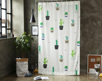 Cactus Black Out Wide Fabric Panel for Curtains  (59 inches x 94 inches) 76421