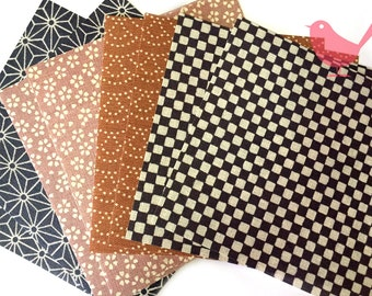 Scrap Pack - Japanese origami fabric paper lot 1