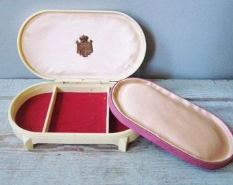 Celluloid Jewelry Box