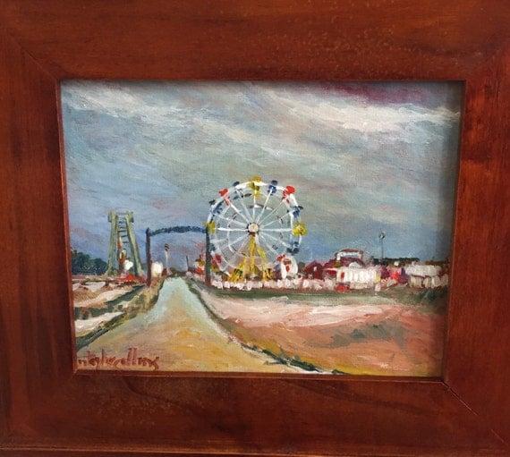 Original Acrylic Painting Of Famous Delaware Landmark