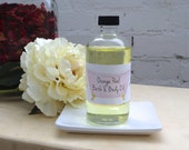 Chamomile Handmade Bath & Body Oil - Natural, Aromatherapy Oil Free Shipping, Gifts for Her