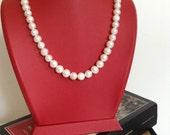 water pearl necklace, Bridesmaid Necklace, Bridesmaid Jewelry, Wedding Jewelry,bridesmaid gift